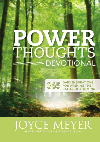 9781455517442: Power Thoughts Devotional: 365 Daily Inspirations for Winning the Battle of the Mind