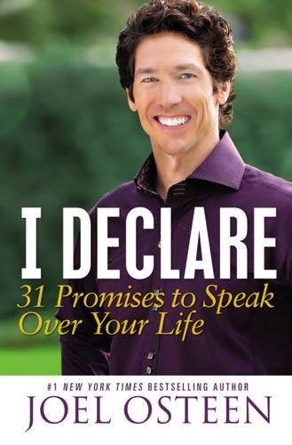 9781455521807: I Declare: 31 Promises to Speak Over Your Life