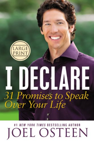 9781455522569: I Declare: 31 Promises to Speak Over Your Life