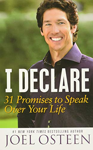 9781455529322: I Declare: 31 Promises to Speak Over Your Life