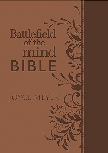 9781455543564: Battlefield of the Mind Bible: Renew Your Mind Through the Power of God's Word