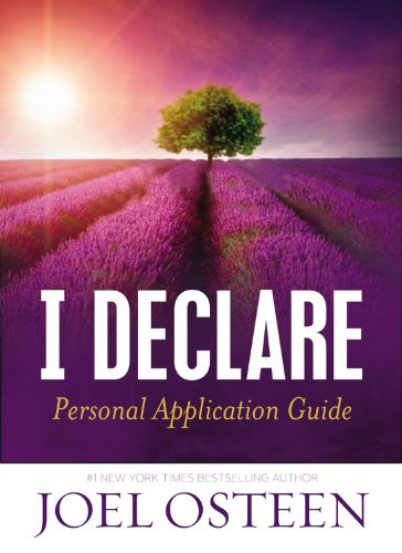 9781455555222: I Declare Personal Application Guide