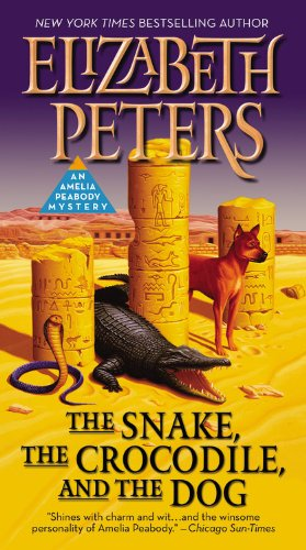 9781455572380: The Snake, the Crocodile, and the Dog (Amelia Peabody #7)