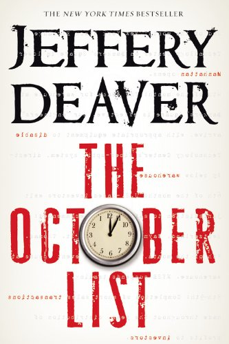 9781455576647: The October List: (Novel is in reverse begins with chapter 24)
