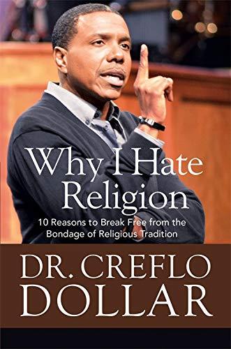 9781455577323: God vs. Religion: 10 Reasons to Break Free from the Bondage of Religious Tradition