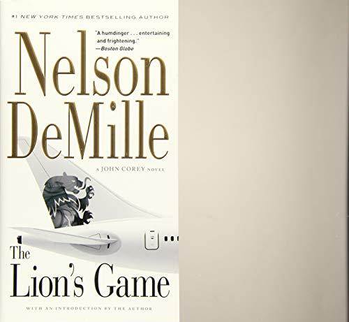 9781455578627: The Lion's Game (A John Corey Novel)