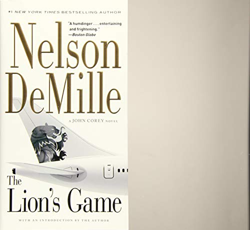 9781455578627: The Lion's Game (A John Corey Novel)