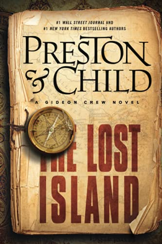 9781455584000: The Lost Island: A Gideon Crew Novel