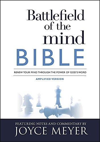 9781455595303: Battlefield of the Mind Bible: Renew Your Mind Through the Power of God's Word