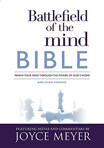 9781455595327: Battlefield of the Mind Bible: Renew Your Mind Through the Power of God's Word