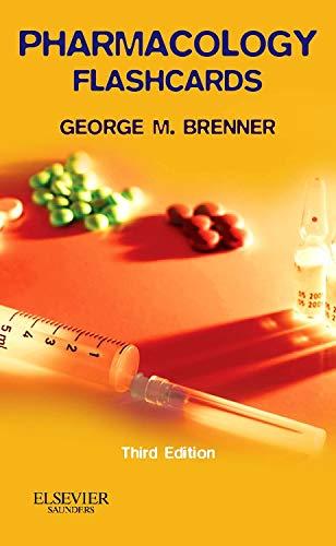 9781455702817: Pharmacology Flash Cards, 3e