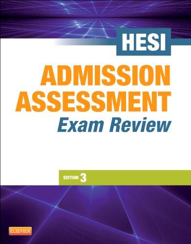 Admission Assessment Exam Review, 3e: HESI