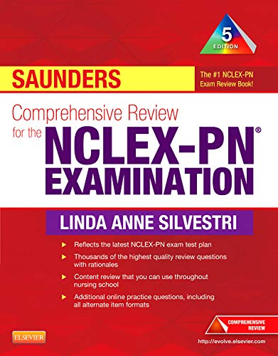 9781455703791: Saunders Comprehensive Review for the NCLEX-PN® Examination, 5e (Saunders Comprehensive Review for Nclex-Pn)