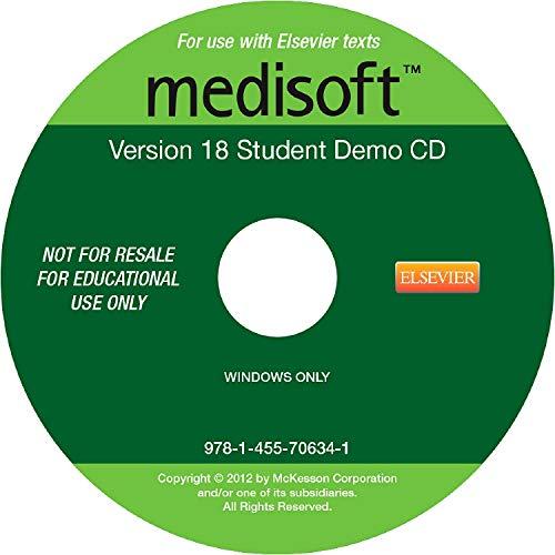 9781455706341: Medisoft Version 18 Demo CD, 1e
