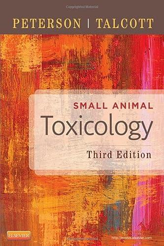 9781455707171: Small Animal Toxicology