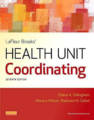 9781455707201: LaFleur Brooks' Health Unit Coordinating, 7e