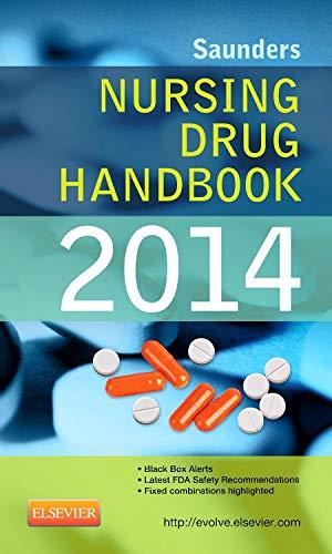 9781455707393: Saunders Nursing Drug Handbook 2014, 1e
