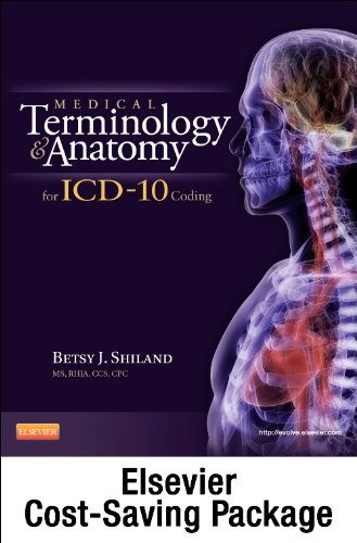 9781455707782: Medical Terminology Online for Medical Terminology and Anatomy for ICD-10 Coding (Access Code and Textbook Package)