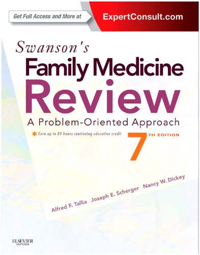 9781455707904: Swanson's Family Medicine Review, 7e (Expert Consult Online and Prin)