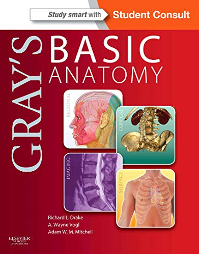 9781455710782: Gray's Basic Anatomy with Student Consult