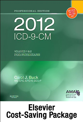 2012 Icd-9-Cm, For Physicians, Volumes 1 And: Boudreau, Angela J.;