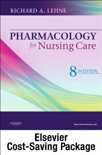 9781455725489: Pharmacology Online for Pharmacology for Nursing Care (User Guide, Access Code and Textbook Package), 8e