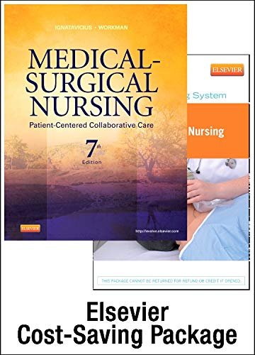 9781455728534: Medical-Surgical Nursing - Two Volume Text and Simulation Learning System Enhanced Package: Patient-Centered Collaborative Care, Two-Volume Set, 7e