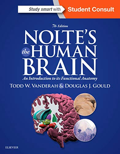 9781455728596: Nolte's The Human Brain: An Introduction to its Functional Anatomy, 7e