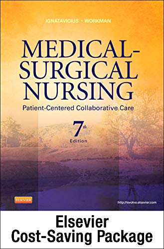 9781455728732: Medical-Surgical Nursing - Single Volume - Text and Virtual Clinical Excursions 3.0 Package: Patient-Centered Collaborative Care, 7e