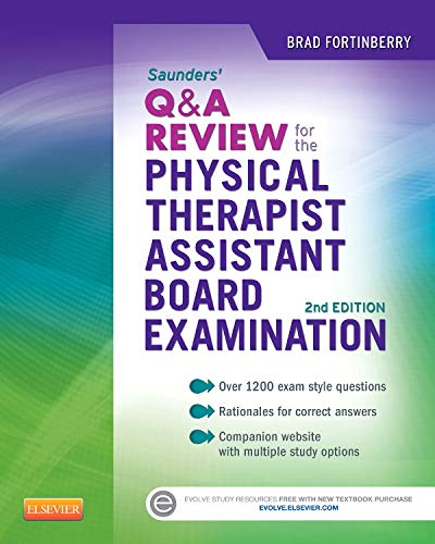 9781455728947: Saunders Q&A Review for the Physical Therapist Assistant Board Examination, 1e