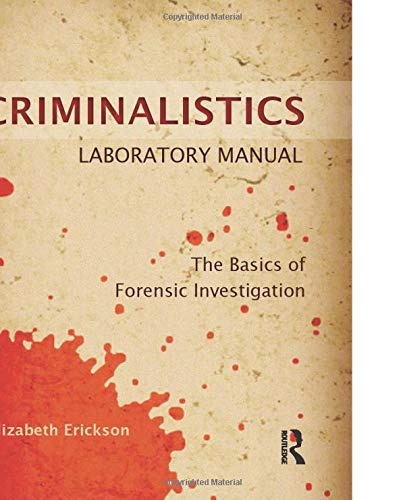 criminalistics essay Criminalistics: forensic science and crime gives readers an in-depth overview of this hot-button topic and explores the various tasks and actions that take place in crime scenes and laboratories all across the world today it places criminalistics within the framework of basic chemistry and biology and clearly explains processes to readers with.