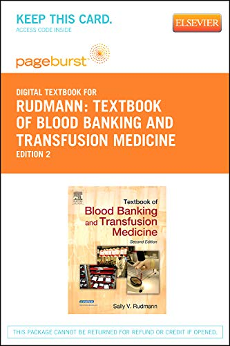 9781455734207: Textbook of Blood Banking and Transfusion Medicine - Elsevier eBook on VitalSource (Retail Access Card), 2e