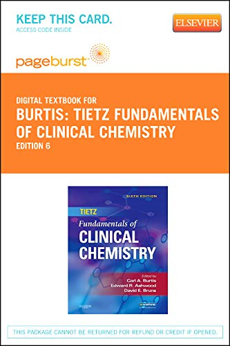 9781455734405: Tietz Fundamentals of Clinical Chemistry - Elsevier eBook on VitalSource (Retail Access Card), 6e