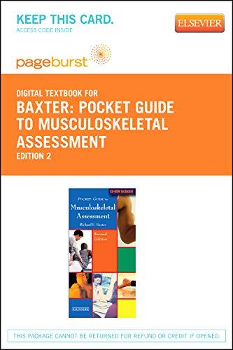 9781455734665: Pocket Guide to Musculoskeletal Assessment - Elsevier eBook on VitalSource (Retail Access Card)