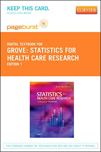 9781455734887: Statistics for Health Care Research - Elsevier eBook on VitalSource (Retail Access Card), 1e