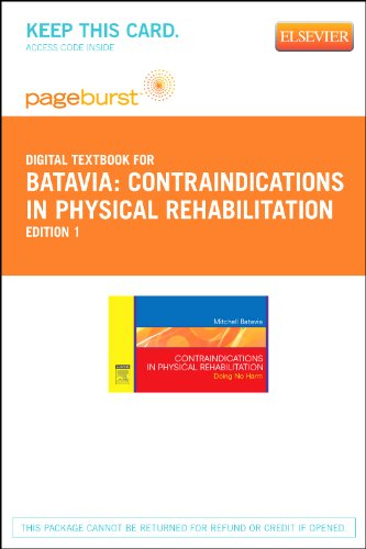9781455735266: Contraindications in Physical Rehabilitation - Elsevier eBook on VitalSource (Retail Access Card): Doing No Harm, 1e