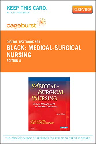 9781455735365: Medical-Surgical Nursing - Elsevier eBook on VitalSource (Retail Access Card): Clinical Management for Positive Outcomes