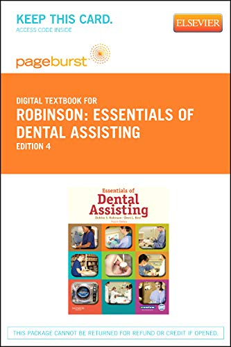 9781455735389: Essentials of Dental Assisting - Elsevier eBook on VitalSource (Retail Access Card), 4e