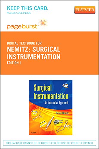 9781455735396: Surgical Instrumentation - Elsevier eBook on VitalSource (Retail Access Card): An Interactive Approach