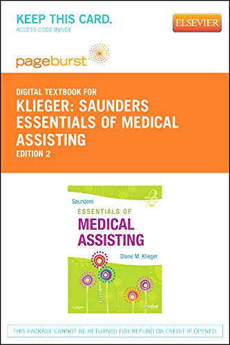 9781455736065: Saunders Essentials of Medical Assisting - Elsevier eBook on VitalSource (Retail Access Card)