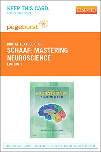 9781455736287: Mastering Neuroscience - Elsevier eBook on VitalSource (Retail Access Card): A Laboratory Guide, 1e