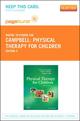 9781455736355: Physical Therapy for Children - Elsevier eBook on VitalSource (Retail Access Card), 4e