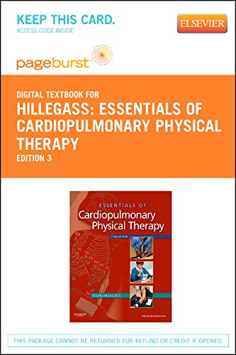9781455736522: Essentials of Cardiopulmonary Physical Therapy - Elsevier eBook on VitalSource (Retail Access Card)