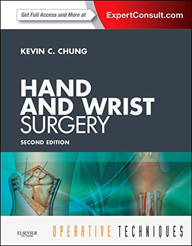 9781455740246: Operative Techniques: Hand and Wrist Surgery: Expert Consult - Online and Print, 2e