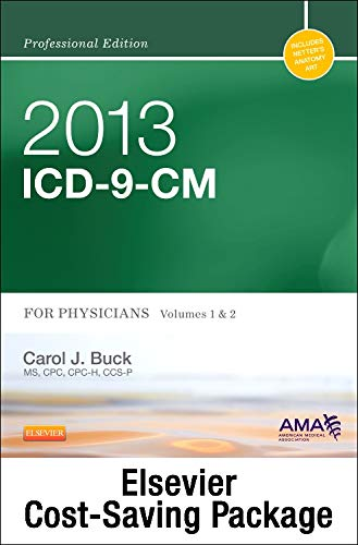 9781455741847: 2013 ICD-9-CM, for Physicians, Volumes 1 and 2 Professional Edition (Spiral bound) with 2012 HCPCS Level II Professional Edition and 2012 CPT Professional Edition Package, 1e