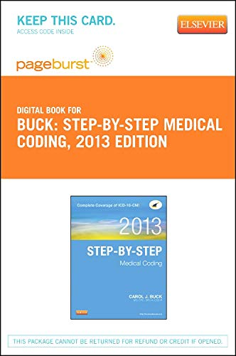 9781455744961: ICD-10-CM/PCS Coding: Theory and Practice, 2013 Edition - Elsevier eBook on VitalSource (Retail Access Card), 1e