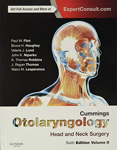 9781455746965: Cummings Otolaryngology: Head and Neck Surgery, 6e (OTOLARYNGOLOGY (CUMMINGS)) - 3-Volume Set