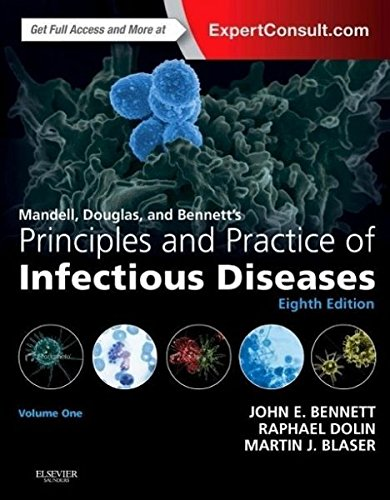 9781455748013: Mandell, Douglas, and Bennett's Principles and Practice of Infectious Diseases: 2-Volume Set, 8e