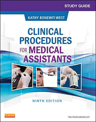 9781455748358: Study Guide for Clinical Procedures for Medical Assistants