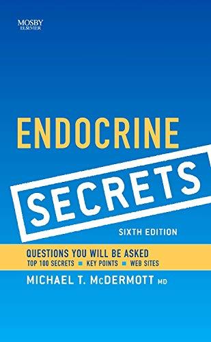9781455749751: Endocrine Secrets, 6e